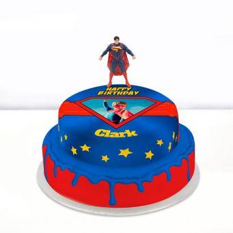 Superman Photo Cake