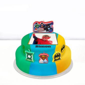Justice League Photo Cake