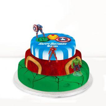 Avengers Trio Cake