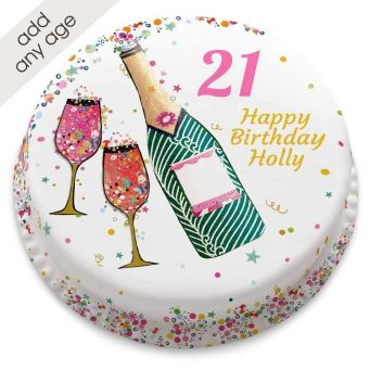 Any Age Champagne Cake