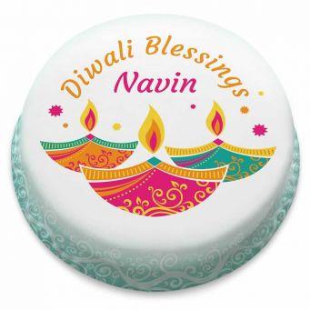Diwali Blessings Cake