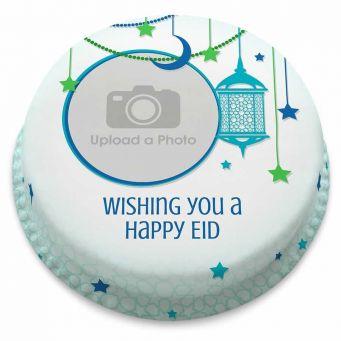Eid Photo Lantern Cake