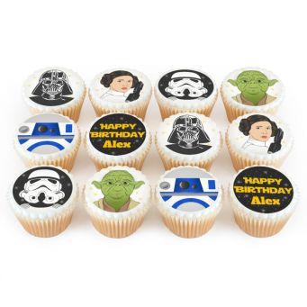 12 Force Cupcakes