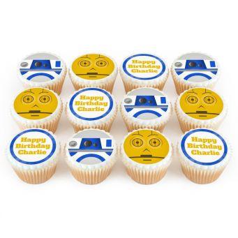 12 Robot Cupcakes