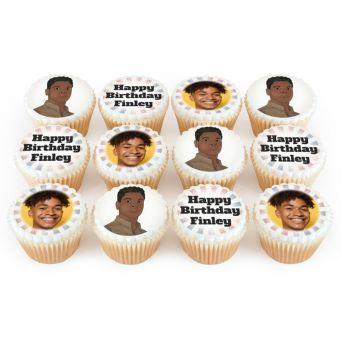 12 Resistance Photo Cupcakes