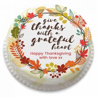 Grateful Heart Cake