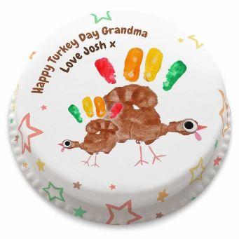 Turkey Day Cake