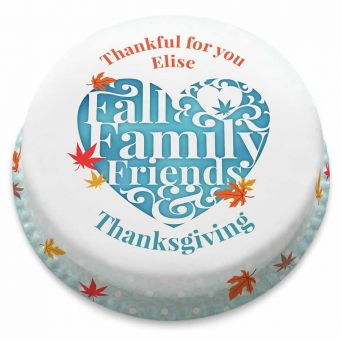 Fall Family Friends Cake