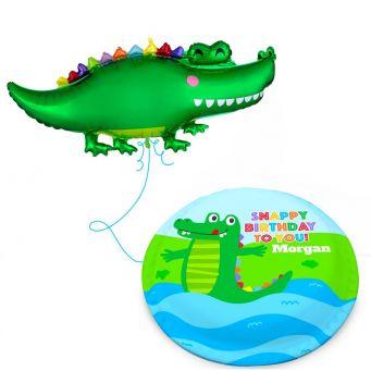Jumbo Gator Gift Set