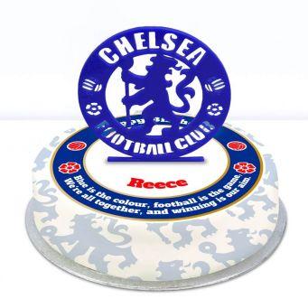 Chelsea Themed Topper Cake