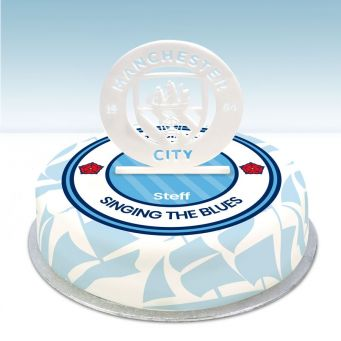 The Sky Blues Topper Cake