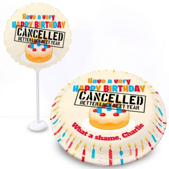 Cancelled Birthday Gift Set