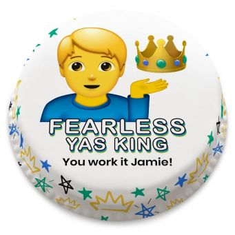 Fearless King Cake