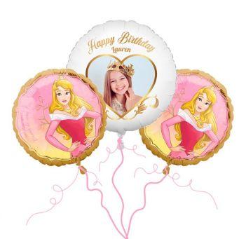 Disney Aurora Photo Balloon Bouquet