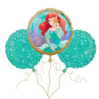 Disney Little Mermaid  Balloon Bouquet