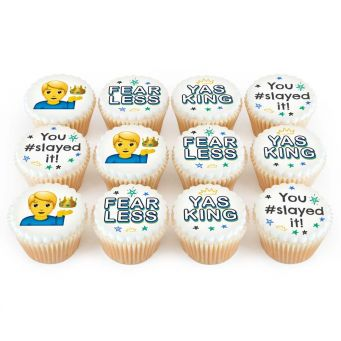12 Fearless Cupcakes