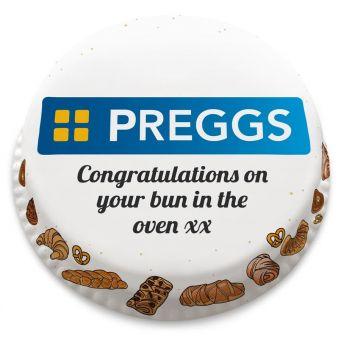Preggs Baby Cake