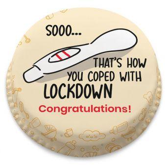 Lockdown Baby Cake