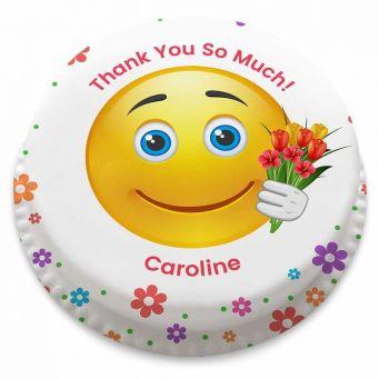 Flower Emoji Cake