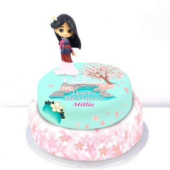 Disney Mulan Tiered Cake