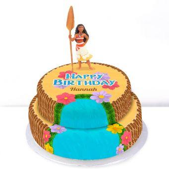 Disney Moana Tiered Cake