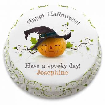 Pumpkin Witch Cake