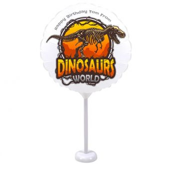 Dinosaurs World Midi Balloon