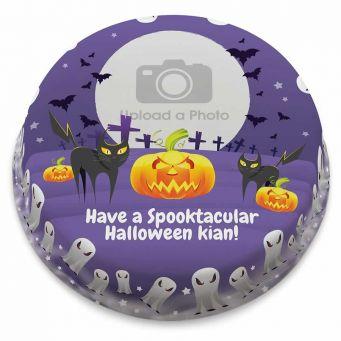 Halloween Photo Cake