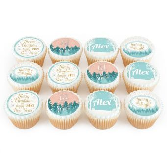 12 Let It Snow Cupcakes
