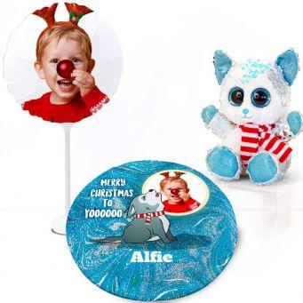 Glitzy Wolf Christmas Gift Set