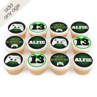 12 Gaming Cupcakes