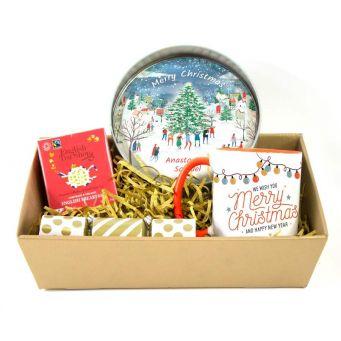 Christmas Cake Gift Hamper