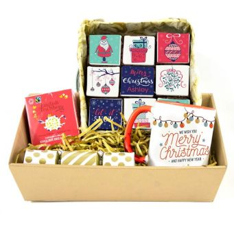 Christmas Brownies Gift Hamper