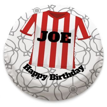 Sheffield United Themed Retro Shirt Cake