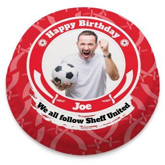 Sheffield United Themed Photo Cake