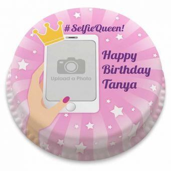 Selfie Queen Cake