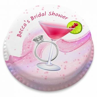 Bride to Be Cocktail Cake