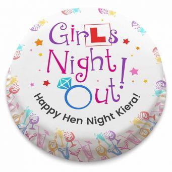Girls Night Out! Cake