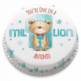 One in a Million Ted Cake