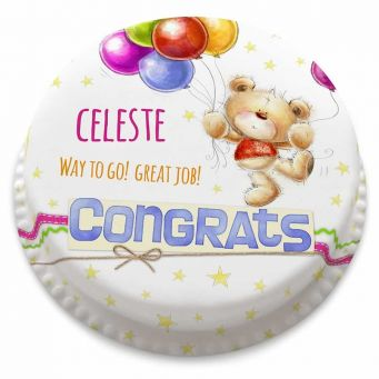 Congrats Ted Cake