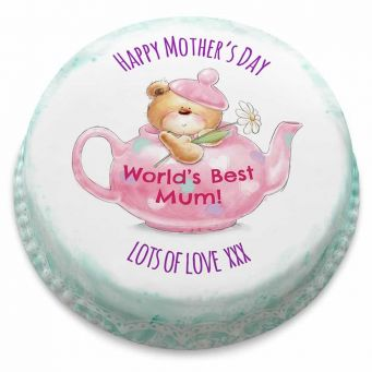 Mother's Day Teapot Cake