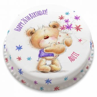 Ted Birthday Bouquet Cake
