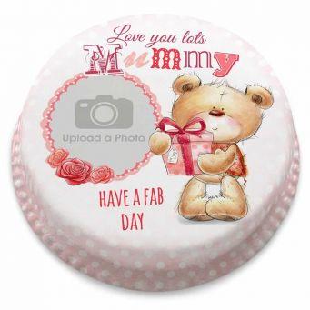 Mummy Ted Cake
