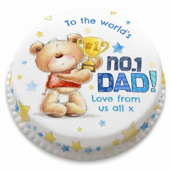 No.1 Ted Dad Cake