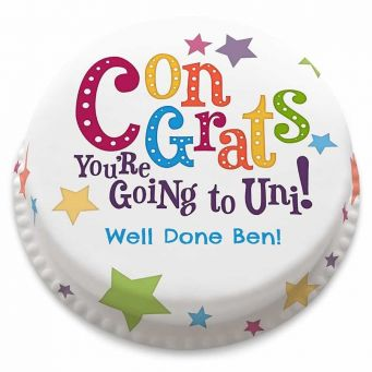 You're going to Uni! Cake