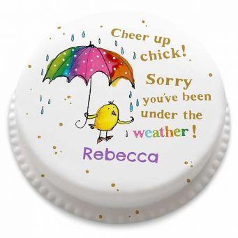 Cheer Up Chick Cake
