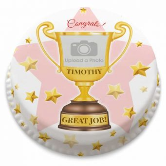 Trophy Photo Cake