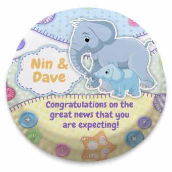 New Baby Elephant Cake