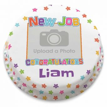 New Job Photo Cake