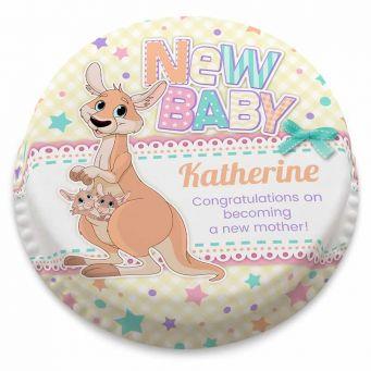 New Baby Kangaroo Cake